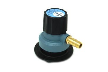 SRG Regler 552-1 Jumbo (Clip-On) verstellbar 0-2bar G.56 - 35mm auf 10mm Schlauch H.50
