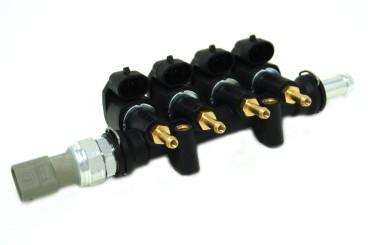 BRC 4 Zylinder Einspritzrail GP13 inkl. Drucksensor