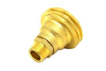 Adaptador de boquilla de suministro ACME con conexión para válvula de llenado en depósito de gas combustible de 4 agujeros