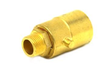 Adaptador de boquilla de suministro BAYONETA con conexión para válvula de llenado en depósito de gas combustible de 4 agujeros