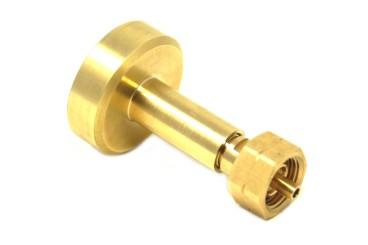 DREHMEISTER DISH LPG Adapter, Gasflaschen Adapter zum Befüllen von Gasflaschen W21,8x1/14