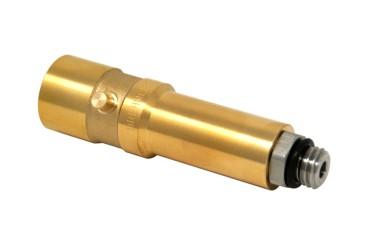 Adaptateur baïonette 14mm / M14, en laiton avec connexion en acier, L=103,5mm