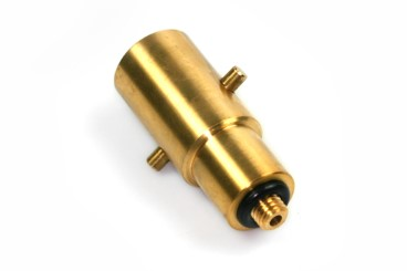 Bajonett Tankadapter 10mm, Messing (UK)
