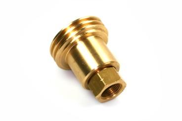 Adaptador de boquilla de suministro ACME para el llenado de cilindros de gas de 4 kg - rosca izquierda 3/8