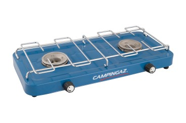 CAMPINGAZ Base Camp stove with 2 burners, 1600 watts each, incl. hose