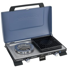 CAMPINGAZ 400SG table stove with 2 burners, 2x2200 watts incl. hose + grills