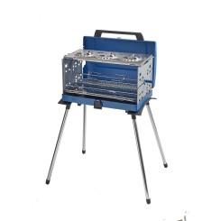 CAMPINGAZ grill au gaz portatif PUEBLO IV 200 SGR, puissance 5200 W avec broche