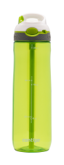 Contigo Ashland Trinkflasche, Wasserflasche mit Strohhalm 720ml (Citron White)