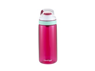 Contigo Autoseal Courtney Trinkflasche Kinder, Wasserflasche 590ml (Sangria White)