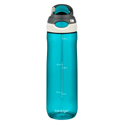 Contigo Chug drinking bottle, water bottle with wide opening 720ml (Scuba)