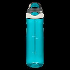 Contigo Chug botella de agua, botella de hidratación 720ml (Scuba)