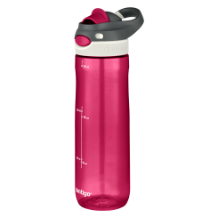 Contigo Chug botella de agua, botella de hidratación 720ml (Very Berry)