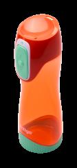 Contigo Autoseal Swish Trinkflasche Kinder, Wasserflasche 500ml (Pink Peach)