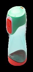 Contigo Autoseal Swish Trinkflasche Kinder, Wasserflasche 500ml (Green Seagrove)