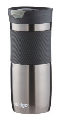 Contigo Snapseal Byron mug isotherme, tasse de voyage 470ml (Gunmetal)