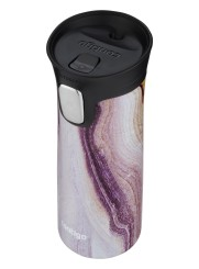 Contigo Autoseal Pinnacle Couture Thermobecher, Kaffeebecher to go 420ml (Sandstone)