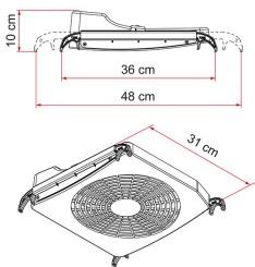 Fiamma Turbo Kit Ventilator