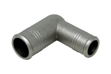 Codo de 90° (ZnAl) 19 x 16 mm
