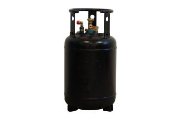 CAMPKO Tankflasche 30L inkl. 4-Loch Ventile