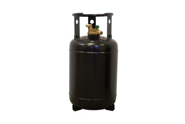 CAMPKO refillable gas cylinder 30 litres with 80% multivalve