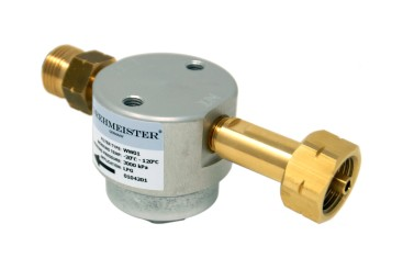 DREHMEISTER Gasflaschenfilter Smart W21,8 x 1/14 LH (lange Version)