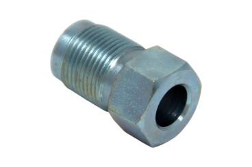 Racor conector para anillo cortante, 8 mm zincado (GNC)