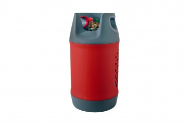 CAMPKO Composite refillable gas bottle 24,5 litres with 80% multivalve