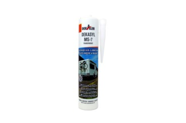 Dekalin DEKAsyl MS 7 MS- Polymer adhesive sealant 290 ml (transparent)