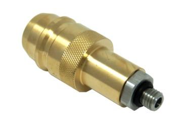 DREHMEISTER Euronozzle LPG Adapter M10 - 79,5mm (Edelstahlanschluss)