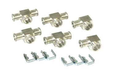 DREHMEISTER set de conectores de para inyectores individuales Keihin (6 cilindros, motor en V)