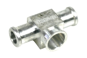 DREHMEISTER injector t-piece for Keihin single injectors 12 mm