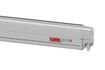 FIAMMA F45L Awning Camper, RV - case titanium, canopy colour Royal Grey