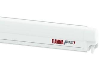 FIAMMA F45L Awning Camper, RV - case white, canopy colour Bordeaux