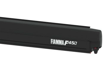 FIAMMA F45S Awning Camper Van - 260 for VW T5 MULTIVAN/TRANS case black, canopy colour Royal Grey