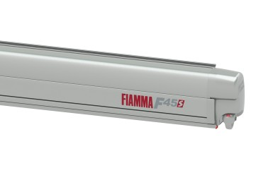 FIAMMA F45S Awning Camper Van - 260 for VW T5 CALIFORNIA case titanium, canopy colour Royal Grey