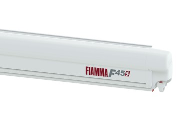 FIAMMA F45S Awning Camper Van - 260 for PSA, case white, canopy colour Royal Grey