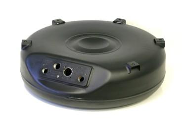 GZWM depósito toroidal de 4 agujeros 600x200 45 L