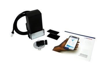 Rotarex WAVE Bluetooth Fernanzeige für 4- Loch Brenngastanks