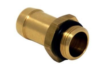 Conector de manguera para riel de inyección AC W02  Ø11,5