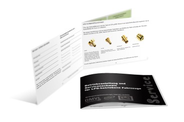 Service booklet for BRC, KME & OMVL installations