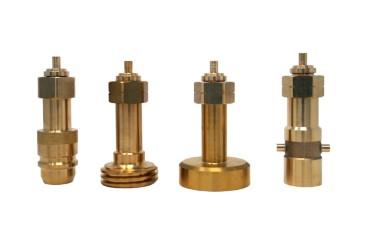 Tankadapter Set zum Befüllen von Gasflaschen mit W21.8 (M22) Linksgewinde und Nippel (ACME, DISH, BAJONETT, EURONOZZLE)