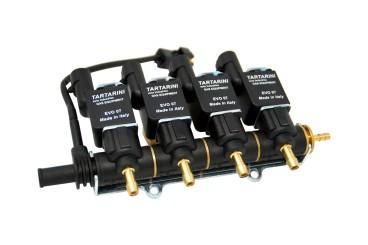 Tartarini Injektor LPG CNG 4 Zylinder EVO07 mit Temperatursensor