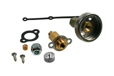 Tomasetto LPG Einfüllstutzen Mini M16 Außengewinde inkl. DISH LPG Adapter
