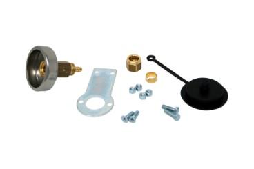 Tomasetto col de remplissage DISH + support en métal et bouchon pour tuyau thermoplastique 8mm