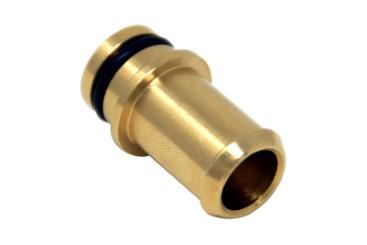 Conexión de agua 16 mm para reductor BRC Genius MB (recta)