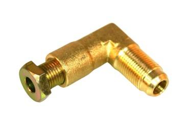 Kit di raccordo a gomito per multivalvola M12x1 (esterno) / M10x1 Ø 6 mm (interno)